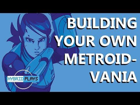Building a Metroidvania | Saving Princess | Hybrid Plays