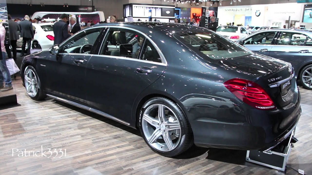 s63 amg 4matic mercedes benz dubai motor show 2013   youtube