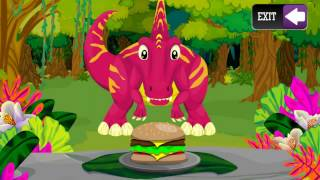 🚒🚌Dinosaur Name Puzzles for Kids Play and Fun 🐑 🐂  Dinosaur Name Learning Games for Kids to Play