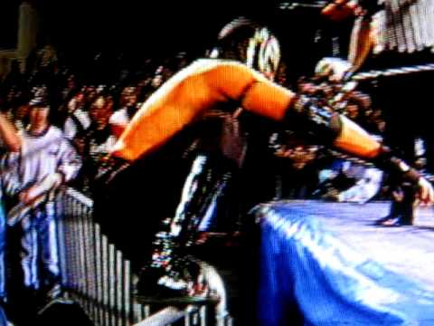 ECW Rey Mysterio Moonsault