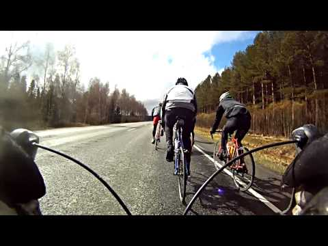 Road cycling with Alexander Stubb, Gopro HD