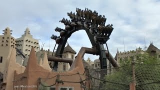 Black Mamba, Phantasialand, 2014 (On & Off Ride).