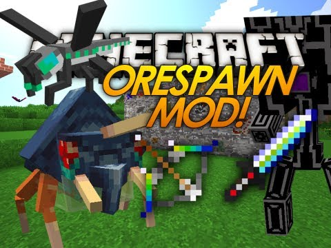 Minecraft Mods | OreSpawn Mod | ULTIMATE BOSSES MOD Pt1! (Mod Showcase)