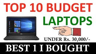 Top 10 Best Budget Laptops under Rs. 30,000/- You can buy | Dell Inspiron 3567 Unboxing