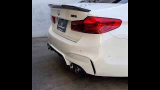 Loudest BMW F90 M5 Exhaust [Revs, Pops, Burbles, Turbo Whistle and Backfire]