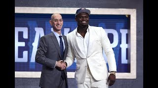 Zion Tears Up Going No. 1; Coby Couldn't Hold The Smiles | First 10 Picks Of The 2019 Draft
