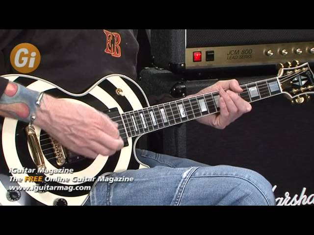 Zakk Wylde Signature Gibson Les Paul Guitar Review With Jamie Humphries iGuitar Magazine