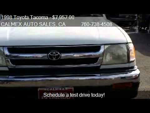 1998 Toyota Tacoma 2wd 1998 Toyota Tacoma Xtracab 2wd