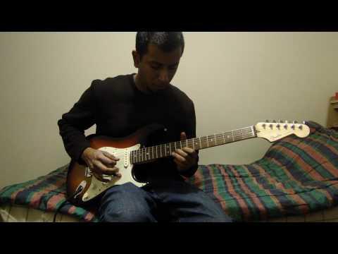 Vaseegara - Minnale guitar instrumental