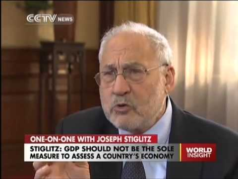 Stiglitz - China, GDP, Quantitative Easing & Currency War