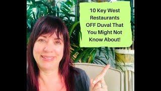 Best Key West Restaurants off the Beaten Path