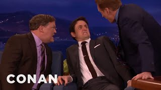 "Zach Woods, Conan & Andy Play ""Give Me Back My Son""  - CONAN on TBS"
