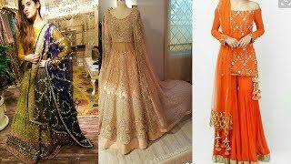Latest & Stylish Party Wear Designer Dresses Design Collection For Girls 2018