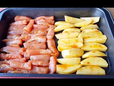 SIRRI SOSUNDA-Fırında Soslu Tavuk Patates Tarifi-Çok Kolay Ve Lezzetli Bir Yemek-Tavuklu Tarifler