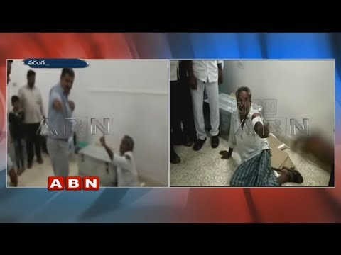 Clash between MRO and Farmer over Rythu Bandhu scheme | Warangal