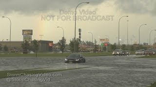 Grand Forks, ND Severe Storms And Flooding - 7/19/2016