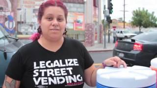 Street Vendors of L.A. - Esmeralda Carrillo