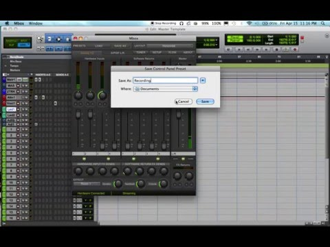 Zero Latency Recording With Pro Tools and Mbox