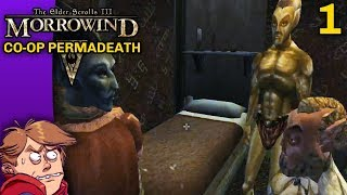 [Criken] The Elder Scrolls III Morrowind Co op Permadeath Campaign - Episode 1