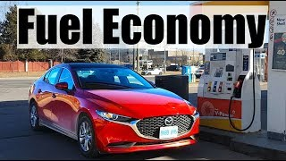2019 Mazda 3 - Fuel Economy MPG Review + Fill Up Costs