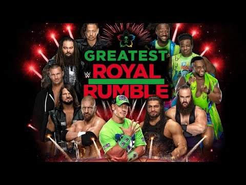 7 WWE Title Matches For Greatest Royal Rumble