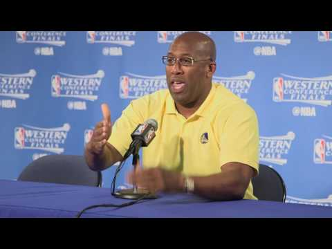 Mike Brown tells funny about run in with Police before Western Conference Finals Game 2