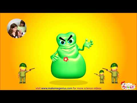 Germs Movie for Kids Virus & Bacteria Introduction