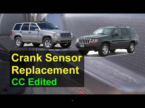 Jeep Crank Sensor Replacement, P Codes P0351, P1391, P1494 - Auto Repair Series