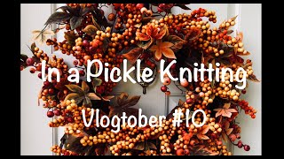 In a Pickle Knitting - Vlogtober #10