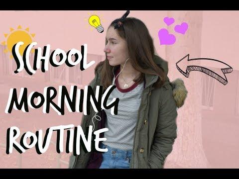 Сутрешна рутина за училище 2018| Yana Smile