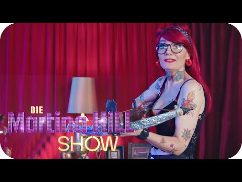 Action Piercing - Jenny Silverstick | Die Martina Hill Show | SAT.1