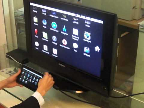 Perfect HDMI out to TV---Using Babiken Android 2.2 Tablet PC --Samsung S5PV210 ARM Cortex TM-A8