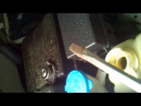 Nissan 2005 Xterra Transmission-Radiator Problem