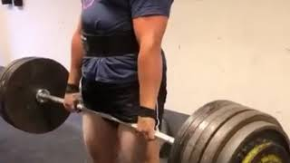 Morten Aamodt deadlifts 285kg for a double, NEW PR