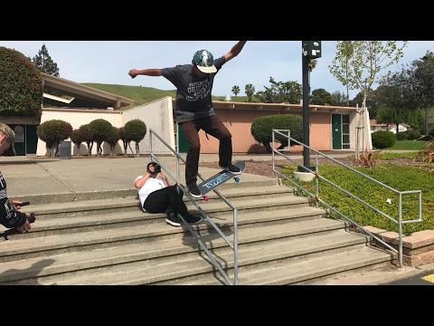 VINNIE BANH VS HANDRAIL AND LIVE TRICK REQUEST!