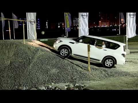Off-road test of Nissan Patrol new (новый Ниссан Патруль)
