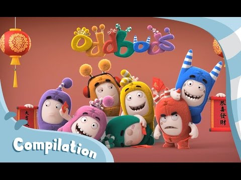 Oddbods | 2016 Chinese New Year Compilation