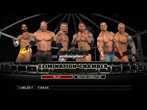 WWE Smackdown VS Raw 2011 PS3 Gameplay - Elimination Chamber All Stars [60FPS][FullHD]