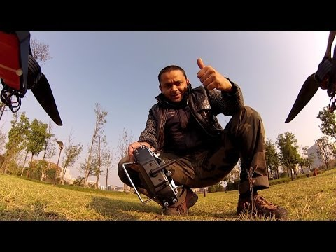 OFM 650S V2 Quadcopter - A Relaxing Afternoon at Yandi Lake Park