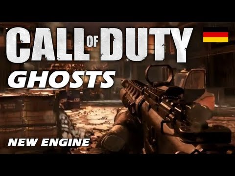 Call of Duty 10: GHOSTS - Alles wird neu! - NEUE ENGINE (BO2 100+ Gameplay Deutsch/German)