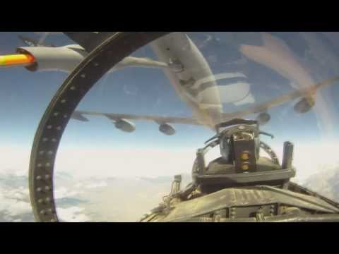 Great Cockpit Footage of F-15E Strike Eagles and F-16C Fighting Falcons Over Afghanistan