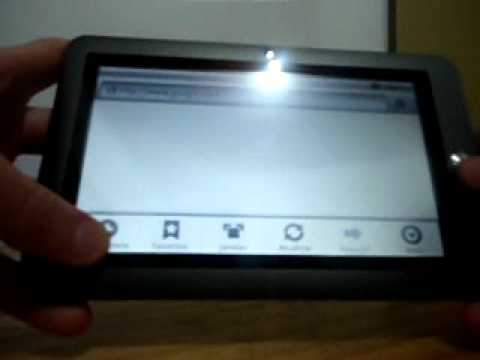 Tablet Coby Kyros MID7020