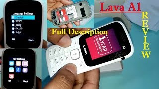 Lava a1 Mobile I Unboxing Best Budget Keypad Phone: LAVA MOBILE Review
