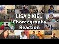 "Lagu LISA X KIEL TUTIN CHOREOGRAPHY ""Reaction Mashup"""