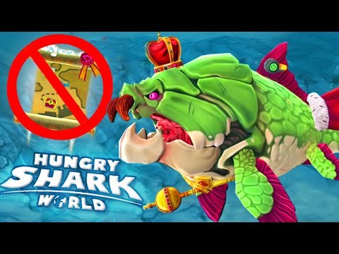DUNKLEOSTEUS NO MAP! | HUNGRY Letters Challenge! - Hungry Shark World | Ep 25 HD