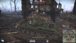 War Thunder: Berlin New map! IS-1 & KV-2 Gameplay (no Commentary)