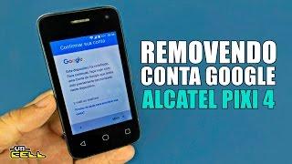 Alcatel Pixi 4 4017F pedindo senha que esqueci como aplicar hard reset