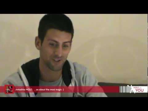 No 1 video reply by Novak Djokovic #NoleForYou