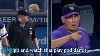 Bud Black gets ejected arguing a check swing, a breakdown