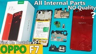 New OPPO F7 Disassembly (all internal Parts) || OPPO F7 Teardown || How to Open Oppo F7 Back Panel